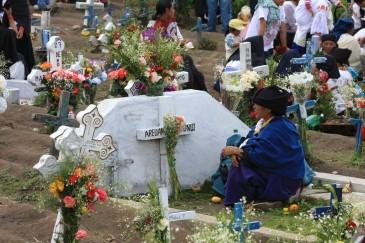 Ecuador, Dia de los Difuntos, Day of the Dead, Cemetery, Ecuadorians, Celebrate