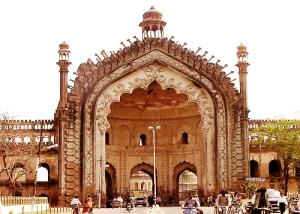India, Rumi Darwaza, gateway