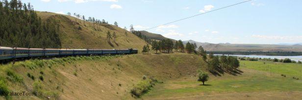 Train near Ulan Ude