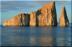 Kicker Rock is a great place to snorkel with sharks!