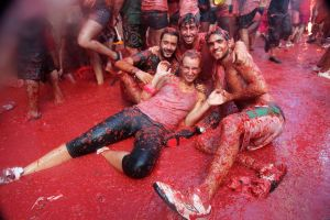 Spain's La Tomatina festival is the largest food fight in the world, and a great example of an event that you can book your tour near to optimize your journey!