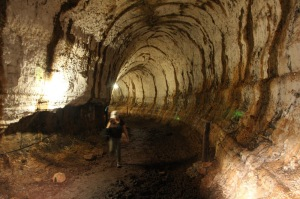 The tunnels of Bella Vista give you a unique opportunity to walk inside an ancient volcano!