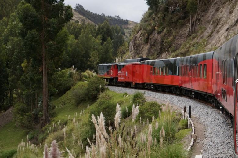 family train trips in Ecuador