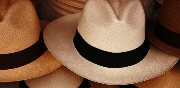 The Panama hat - Made in Ecuador