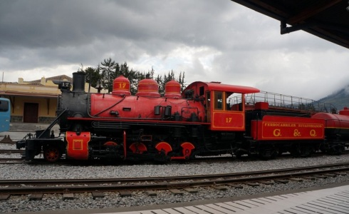 family train trips in Ecuador