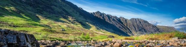 Mountains of Glencoe in Scotland