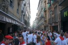 Pamplona can be crowded - We help you navigate