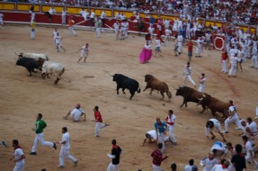Watch the Running of the Bulls from VIP balconies and Bullring